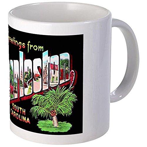 (CafePress Charleston South Carolina Greetings Mug Unique Coffee Mug, Coffee Cup)