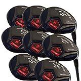 Japan WaZaki Black Oil Finish WL-IIs 4-SW Mx Steel Hybrid Irons Golf Club Set + Headcover(pack of 16)