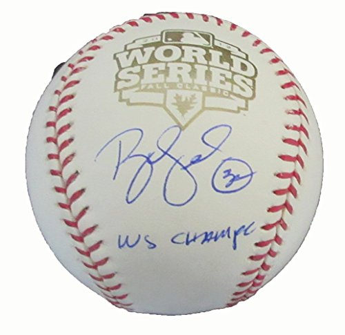 Ryan Vogelsong Autographed Official 2012 World Series Baseball W/PROOF, Picture of Ryan Signing For Us, San Francisco Giants, World Series Champion, Pittsburgh ()