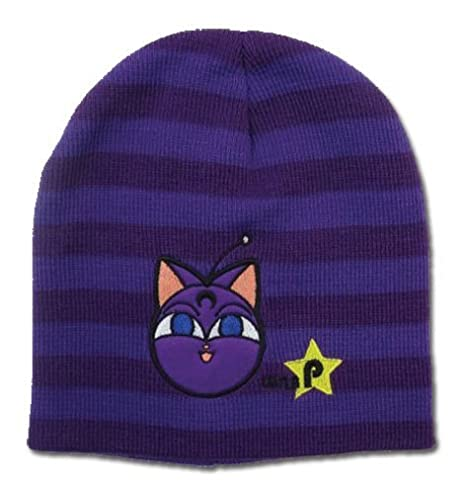 a34dfba88ef Image Unavailable. Image not available for. Color  Great Eastern  Entertainment Sailor Moon Luna P Black Beanie Headwear