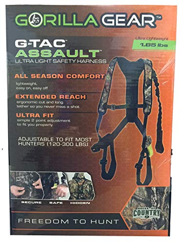 Gorilla Gear G-Tac Assault Ultralight Safety Harness