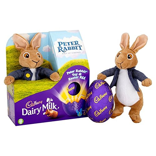 Cadbury Dairy Milk Peter Rabbit Toy and Easter Chocolate Egg