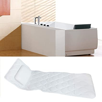 Amazon Com Heitaisi Bath Pillow Mat Full Body Deluxe Spa Bath Mat