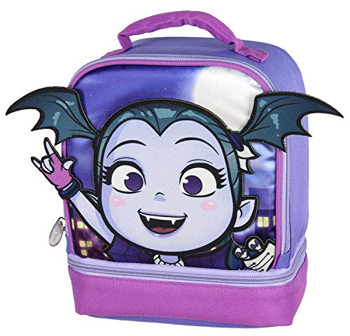(Disney Vampirina Lunch Box Dual Compartment 3D Insulated Lunch Bag)