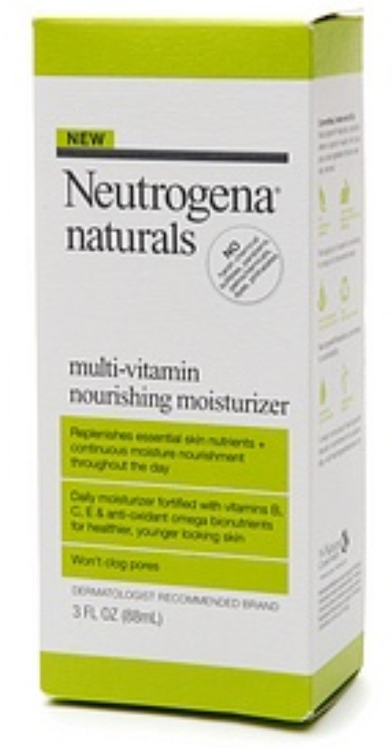 Neutrogena Naturals Multi-Vitamin Nourishing Moisturizer 3 oz (Pack of 4)