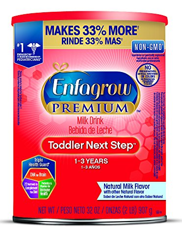 Enfagrow PREMIUM Toddler Next Step Natural Milk Powder, 32 Ounce Can, Pack of 6 (package may vary ) by Enfagrow Next Step (Image #12)'