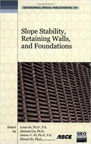 Slope Stability, Retaining Walls, and Foundations