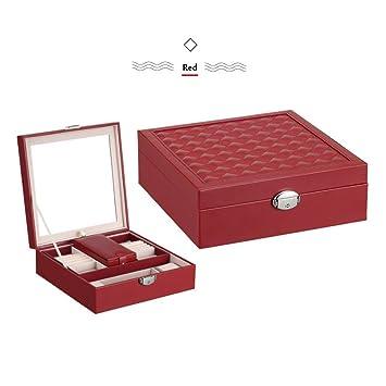 Amazoncom Jewelry Box 2 In 1 Large Jewelry Organizer PU Leather