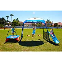 IronKids Cooling Mist Inspiration 250XL Metal Swing Set