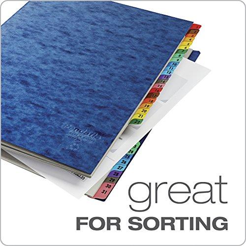 Pendaflex Expanding Desk File, Daily (1–31), Letter Size, Blue, Each (11013) by Pendaflex (Image #4)