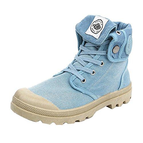 Plein en de Randonnée Chaussures Multifonction Femmes Désert Toile Chaussures Combat Bleu Hibote Espadrille de Bottes air de EUwqx5F
