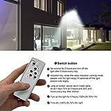 2 Pack Solar Street Light, 4000LM LED Solar Power
