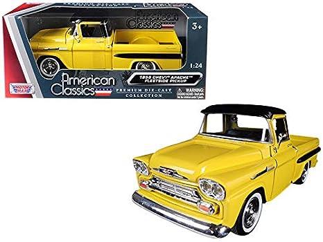 Amazon Motormax 1958 Chevrolet Apache Fleetside Pickup Truck