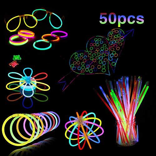 Mostoy Glow Stick, 50 PCS 8