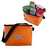 SHSU Six Pack Orange Cooler 'Arched SHSU'