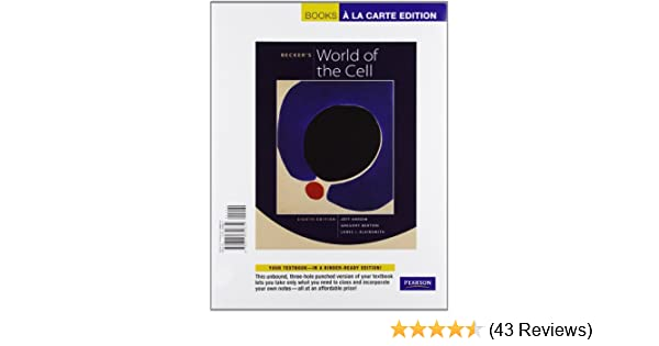 Amazon Com Becker S World Of The Cell Books A La Carte Edition