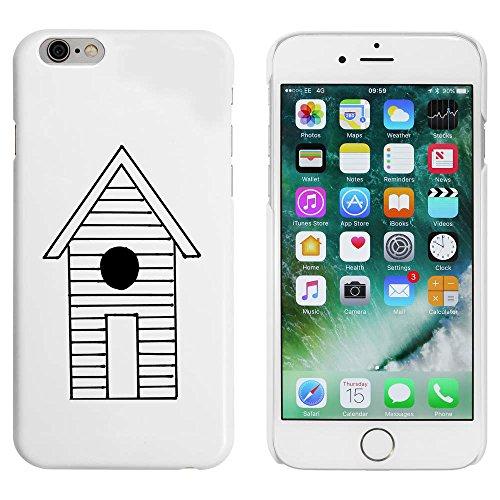 Blanc 'Cabane de Plage' étui / housse pour iPhone 6 & 6s (MC00008678)