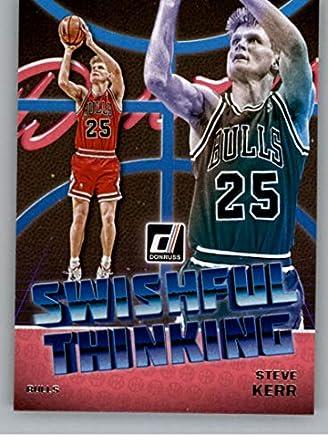 0e5638928 2018-19 Donruss Swishful Thinking  6 Steve Kerr Chicago Bulls Basketball  Card