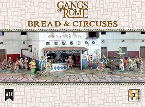 Gangs of Rome Footsore Miniatures Bread & Circuses (Starter Scenario Set, Over 20x Metal Models and Terrain!) by Gangs of Rome