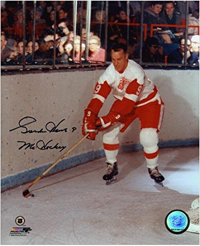 Gordie Howe Detroit Red Wings Autographed 8