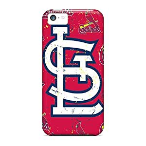 Fashionable Style Case Cover Skin For Iphone 5c- St. Louis Cardinals