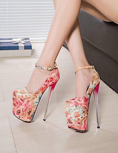 GGX del zapatos uk8 del de aguja de de redondo golden pie altura us10 Bombas dedo 5 del eu42 fiesta green us8 eu39 zapatos del talón cn39 mujer cm uk6 19 5 talón de eu42 más us10 de de atractivo 5 cn43 golden rErqOnA