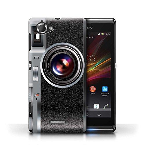 Etui / Coque pour Sony Xperia L/C2105 / Millésime conception / Collection de Appareil Photo