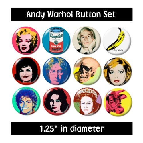 (Andy Warhol Buttons)