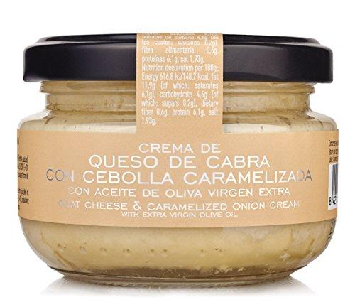 LA CHINATA -Crema de Queso de Cabra con Cebolla Caramelizada 120 gr