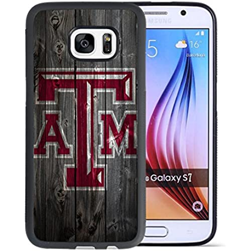 Samsung Galaxy S7 Drop Protection Case, Onelee NCAA Series Case for Samsung Galaxy S7, Texas A&M Aggies Samsung Sales