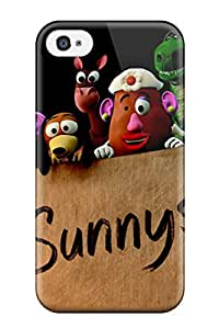 Perfect Fit 2010 Toy Story 3 Movie Case For Iphone - 4/4s