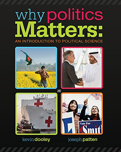 Why Politics Matters: An Introduction to Political Science (Book Only)