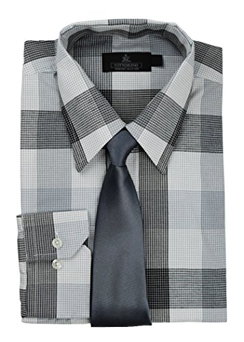 dress shirts with jeans and tie - 8
