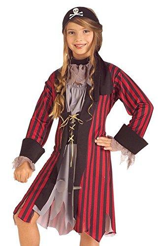 Rubies Caribbean Princess Child Costume, Large