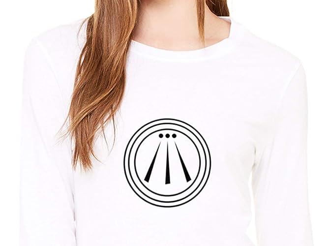Símbolo Celta Awen Camiseta Mujer de Manga Larga: Amazon.es: Handmade