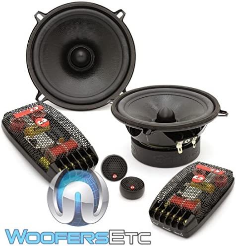 CDT Audio Classic 5.25 2 Way Component Speakers Cl-51a-25 Pro