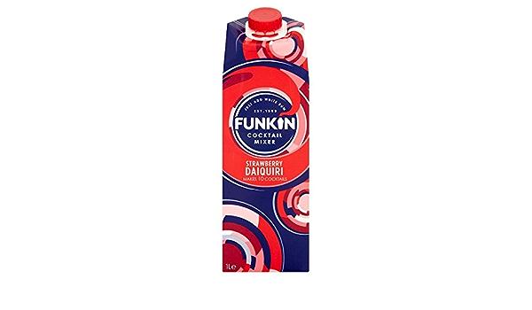 Funkin Cocktail Mixer Strawberry Daiquiri 1L (Pack de 6 x ...
