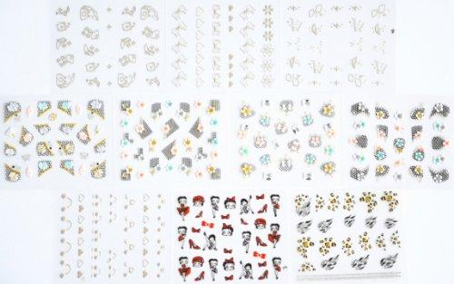 leopard print nail decals - 7