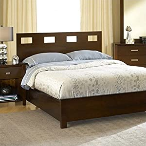 Modus Furniture RV26D3 Riva Platform Storage Bed