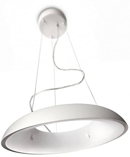 Philips ecomoods amaze ceiling light includes 1 x 60 w 2gx13 bulb white
