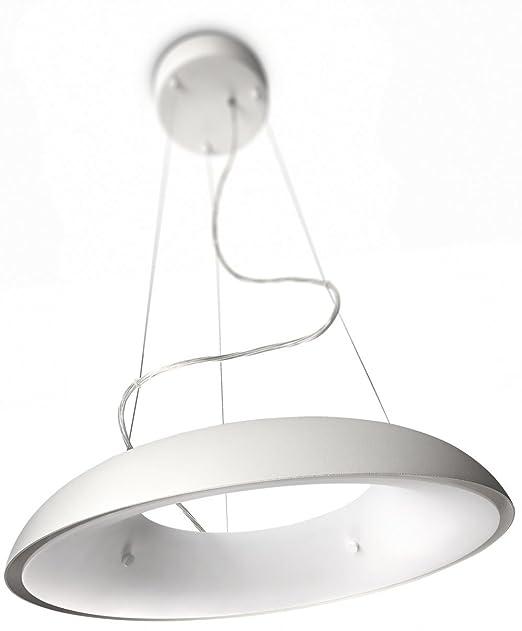 65 opinioni per Philips Amaze Lampadario a Sospensione in Metallo, Bianco, 1 Lampadina da 60 W