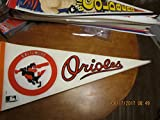 1970's Baltimore Orioles red circle Pennant b1
