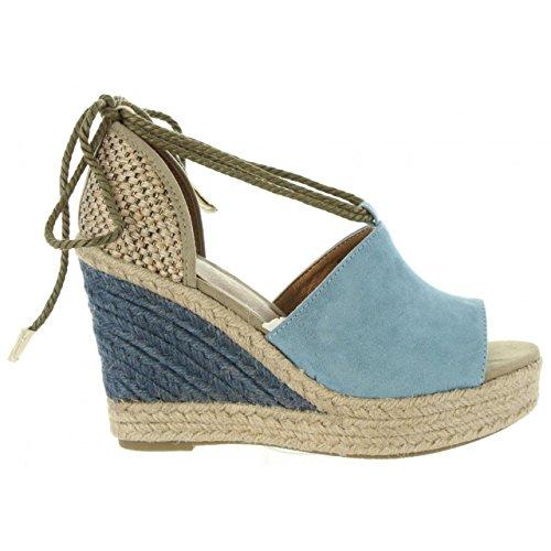 Taupe 393443 Grey Blue B6600 Chaussures compensées Urban Femme pour 6vnIqz8