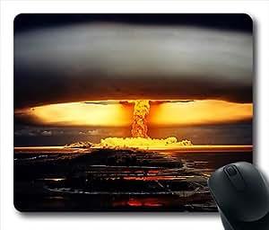 Nuclear Mushroom Cloud Oblong Shaped Mouse Mat