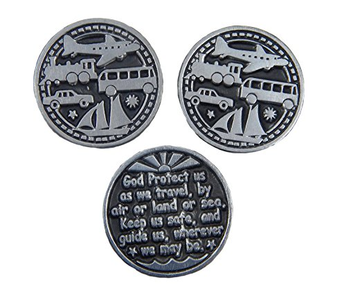 Traveler's Token 3 Coins/God Protect Us as We Travel