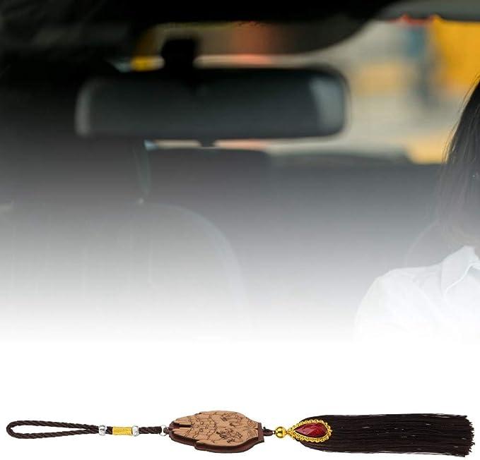 Dgtrhted Muslim Car Hanging Ornaments Imitation Wood Islamic Hanging Pendants Car Decoration 140245