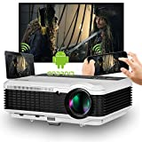 LCD WiFi Android Projector 1280x800 HD 1080P Support 3600 Lumen 200