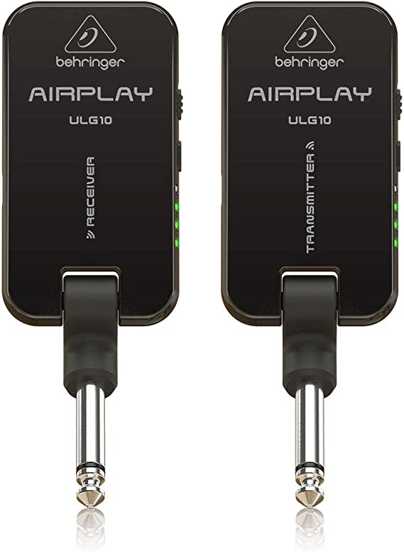 Behringer Wireless System AIRPLAY ULG10 Electric Guitar Electronics (AIRPLAYGUITARULG10)