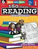 img - for 180 Days of Reading for First Grade (Ages 5 - 7) Easy-to-Use First Grade Workbook to Improve Reading Comprehension Quickly, Fun Daily Phonics Practice for 1st Grade Reading (180 Days of Practice) book / textbook / text book