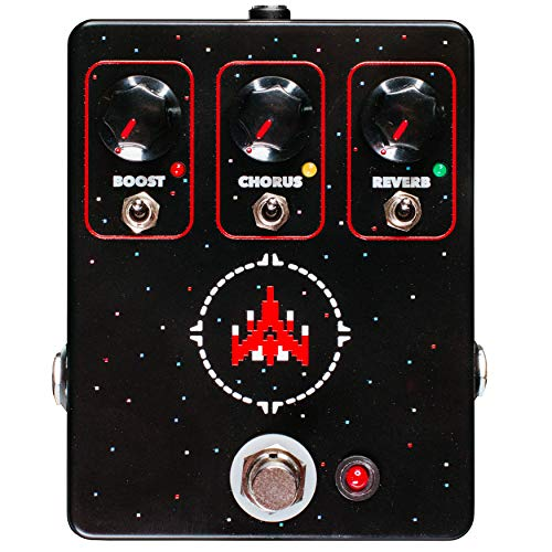 - JHS Space Commander Boost/Chorus/Reverb Pedal
